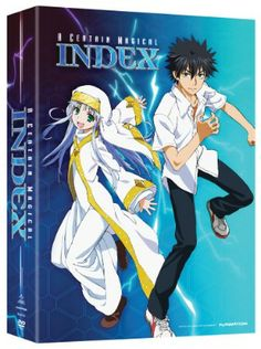 Certain Magical Index, A Season 1 DVD Part 1 (Hyb) Limited Edition #RightStuf2013