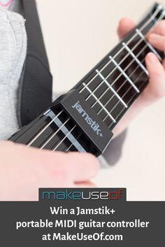 Enter to win a Jamstik+, portable MIDI guitar controller!