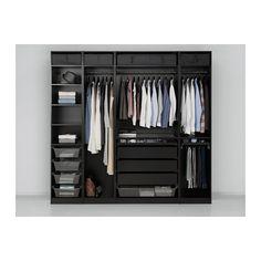 """PAX Wardrobe - 98 3/8x22 7/8x93 1/8 """" - IKEA"""