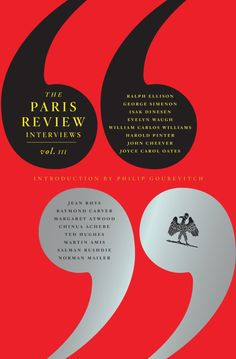 The Paris Review Interviews, vol. 3 (including interviews with Martin Amis, Norman Mailer and Raymond Chandler) book cover