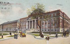 CHICAGO, ILLINOIS, Normal SCHOOL, Vintage Postcard, Used & Stamped, 1910s, Franklin Post Card Co. by AgnesOfBohemia, $1.99