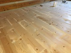 How to DIY finish wide plank pine floors using water based Bona system, Bona Amberseal, Bona Mega.