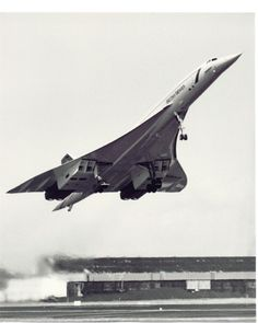 Concorde at take off