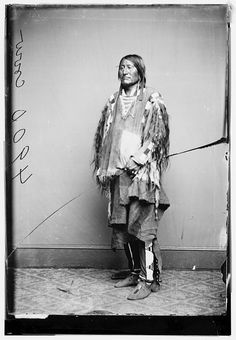 Crow Indian Chief, 1855