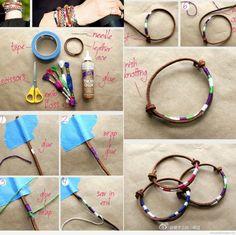 DIY lien : http://braceletbresilien.net/tag/photos/