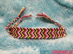 friendship bracelets zigzag