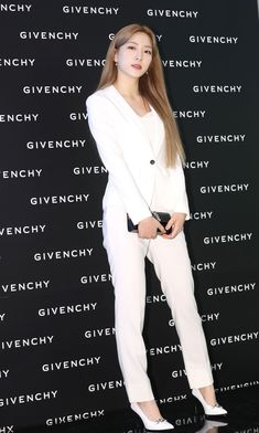 Photo album containing 6 pictures of Eunseo Givenchy Beauty, Cosmic Girls, White Jeans, Product Launch, Chic, Kpop, Dresses, Wallpaper, Fashion
