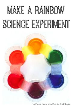 Learn about a new resource for investigative science experiments and learn how to do a rainbow science experiment in your preschool classroom.