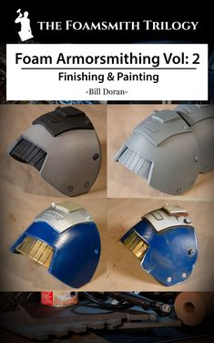 You've built some really amazing foam armor, but now comes the time to paint it up! In this, the second installment of the Foamsmith Trilogy, you'll learn everything you need to know to finish and ...