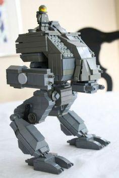 Mechwarrior: Vulture: A LEGO® creation by Clay Shilmasta : MOCpages.com