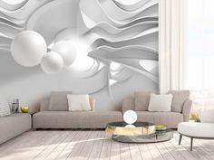 Papier peint intiss/é Fleurs Oriental 400x280 cm XXL Design Trompe l oeil decomonkey D/éco Mural Tableaux Muraux Photo Rose Oiseau blanc