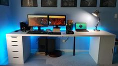 I too have an Ikea Countertop battlestation - Imgur