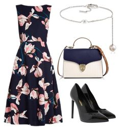 """""""Untitled #616"""" by mchlap on Polyvore featuring Erdem, Yves Saint Laurent, Aspinal of London and Maison Margiela"""