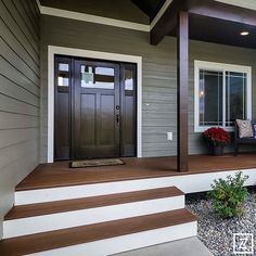 Flathead Valley Parade of Homes - Westcraft Homes Porch