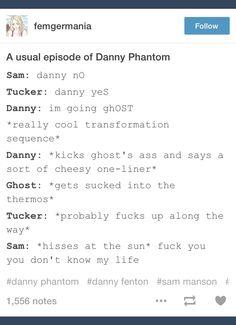Danny Phantom; tumblr; Danny Fenton; Sam Manson; Tucker Foley; ghost