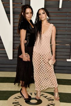 Lisa Bonet and Zoe Kravitz. See what all the stars wore to the Academy Awards' biggest after parties.