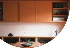 Bypassing, Sliding Cabinet Doors  www.modernmillworkinnovations.com    EKU AG - EKU-CLIPO 10 H Inslide (IS)