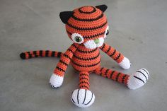Customer order - amigurumi tiger | Designs by Mari-Liis Lille | Flickr