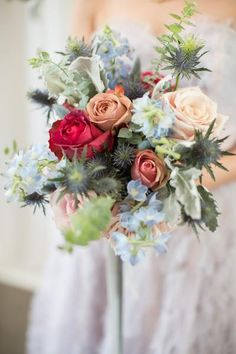 bloominous.com products something-borrowed-blue-bridal-bouquet-golden-sunrise