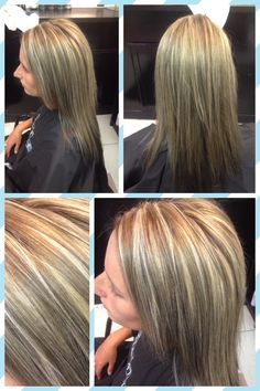 Highlight lowlight done by Anna @ sunbodies