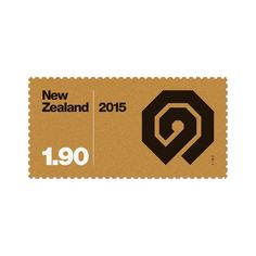 New addition to #basicstamps #newzealand #postagestamps #typography #symbol