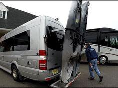RV Kayak Rack For Mercedes Sprinter Camper Van and Motorhomes - YouTube