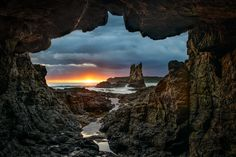 Cathedral Rocks, Kiama, NSW, Australia  by Yanic Ziebel