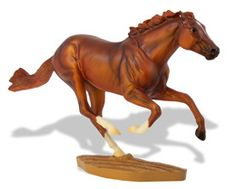 I hate that Secretariat's model was shared.  He really deserves his own model!     1345