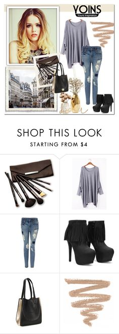 """yoins 28"" by irma-bojic ❤ liked on Polyvore featuring Borghese, Nate Berkus, vintage and yoins"