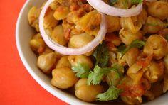 Channa Masala - Indian Food Recipes | Andhra Recipes | Indian Dishes Recipes | Sailu's Kitchen