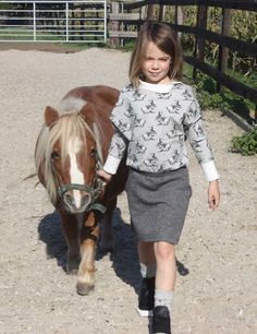 Mix & Match Julia Sweater, Hi, meet my 8 year old cousin Mart. Last sunday she wore a mix&match dress I made for this contest. I started with the Julia sweater and added a...  #contest2015 #mix&match