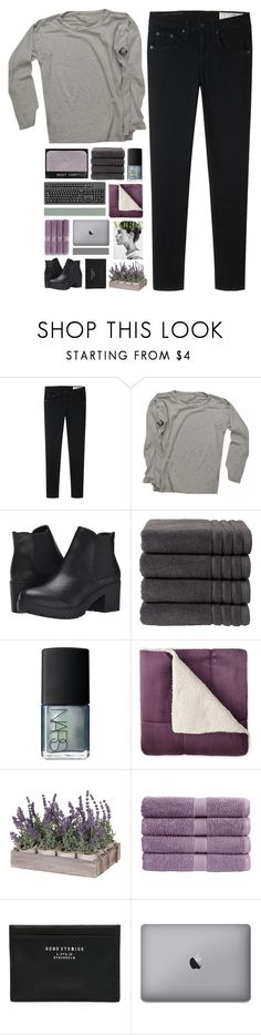 """i usually don't fall when i try to stand"" by neptnue ❤ liked on Polyvore featuring rag & bone, Étoile Isabel Marant, Steve Madden, Christy, NARS Cosmetics, Acne Studios and kikitags"