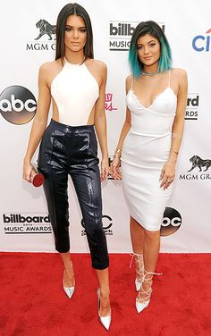 Kendall and Kylie Jenner attend the 2014 Billboard Music Awards at the MGM Grand Garden Arena on May 18, 2014 in Las Vegas.