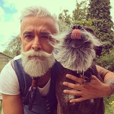 This man who proves that beards get better with age: @Alessandro_manfredini. | 15 Handsome Men Who Will Redefine Your Idea of Grandpas in 2016