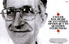 Mike McDonald's Journey to Life: Day 369 Noam Chomsky Memory