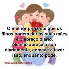 #FelizDiadasMaes #Mae  #Mensagem de #reflexao