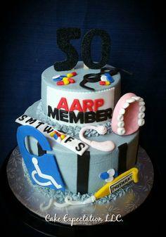 50th Birthday Cake Ideas Funny 50th Birthdaycake Torten