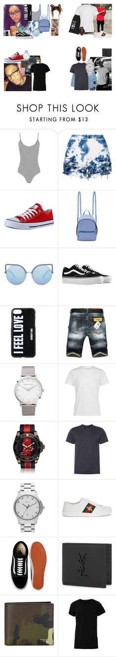 """Bad Boy"" by teylorann on Polyvore featuring WearAll, STELLA McCARTNEY, Matthew Williamson, Vans, Givenchy, Larsson & Jennings, Gucci, NIKE, Yves Saint Laurent and Numero00"