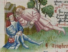 Cod. Pal. germ. 471 Hugo von Trimberg: Der Renner ; 'Tafel der christlichen Weisheit' — Nürnberg, 1425-1431/zwischen 1439 und 1444 Folio 52r