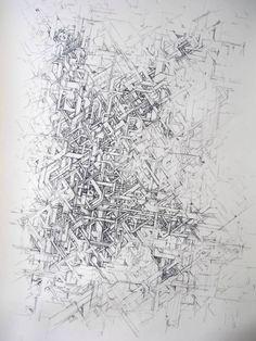 Vincent Dubos - Fusain sur papier