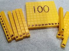LOVE the idea of labeling a set of base ten blocks for students who need a bit…