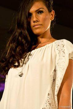 Défilé de la créatrice Gaelle F -Hôtel le méridien TAHITI - Tahiti Fashion Week 2014 Bijoux bulles by Miel.A www.miel-a.com Crédit photo: smartshot