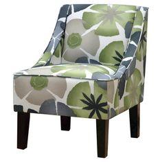 Beau Hudson Swoop Chair   Georgeous Pearl : Target