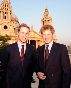Prince William and Prince Harry all grown up. Prince William Family, Prince William And Harry, Prince Harry And Meghan, Royal Princess, Prince And Princess, Princess Of Wales, Princess Charlotte, Norfolk, Celebrity Siblings