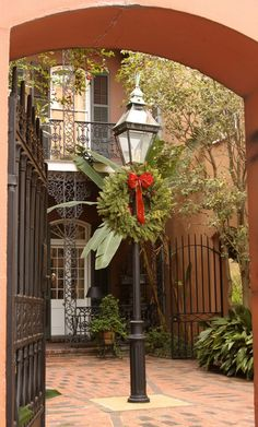 The Williams Residence, located along the back of the Historical New Orleans Collection's compound on Royal Street, is decorated each year for the holidays with personal effects from Kemper and Leila Williams.