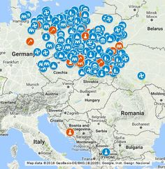 Mapa ma na celu zebranie wszelkich miejsc gdzie poświadczone są ślady przedchrześcijańskich miejsc kultu Słowian oraz znalezisk z nimi związanymi. Jeśli posiadacie informacje o miejscach lub chcielibyście coś dodać od siebie proszę o przesyłanie na adres:slowianinprzedwieczny@gmail.com  Zapraszamy także na fanpage projektu:  https://www.facebook.com/sladamipoganskichprzodkow/