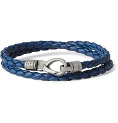 Tod's Woven-Leather Wrap Bracelet