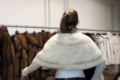 Another happy customer! We offer a rich collection of fur garments. A style for every story.