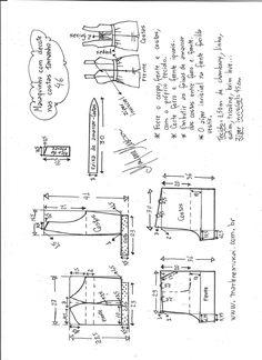 ankara mode Visite o post para mais. T Shirt Sewing Pattern, Tunic Sewing Patterns, Jumpsuit Pattern, Pattern Drafting, Jacket Pattern, Clothing Patterns, Vogue Patterns, Blouse Patterns, Ankara Mode