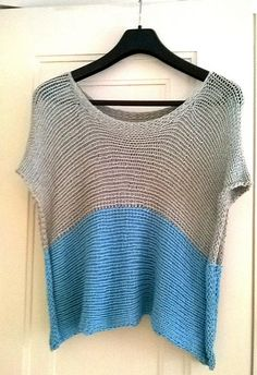 Free knitting pattern for Rowan Straight Top - Angela Juergens designed this comfortable, flattering tee that's a fast knit in bulky yarn. Sizes S, M, L, XL